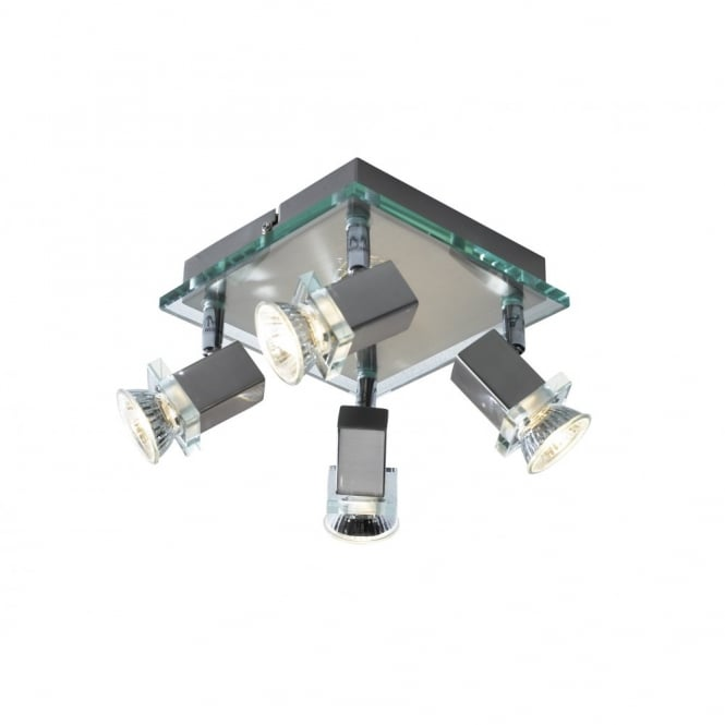 The Lighting Book SPIRIT spotlight cluster with 4 adjustable spots