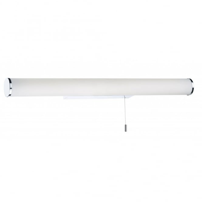 Contemporary Chrome Amp White Led Bathroom Strip Light Class 2