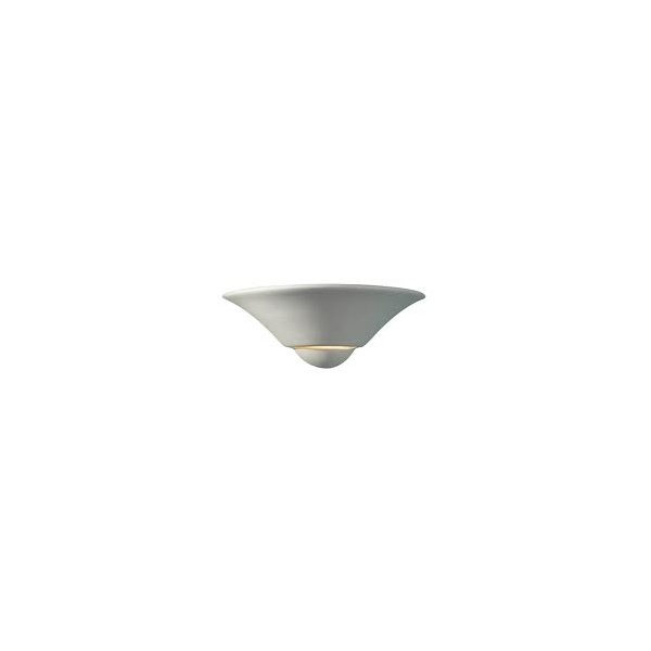Wall Lights Low Energy : Swift low energy white unglazed ceramic wall washer