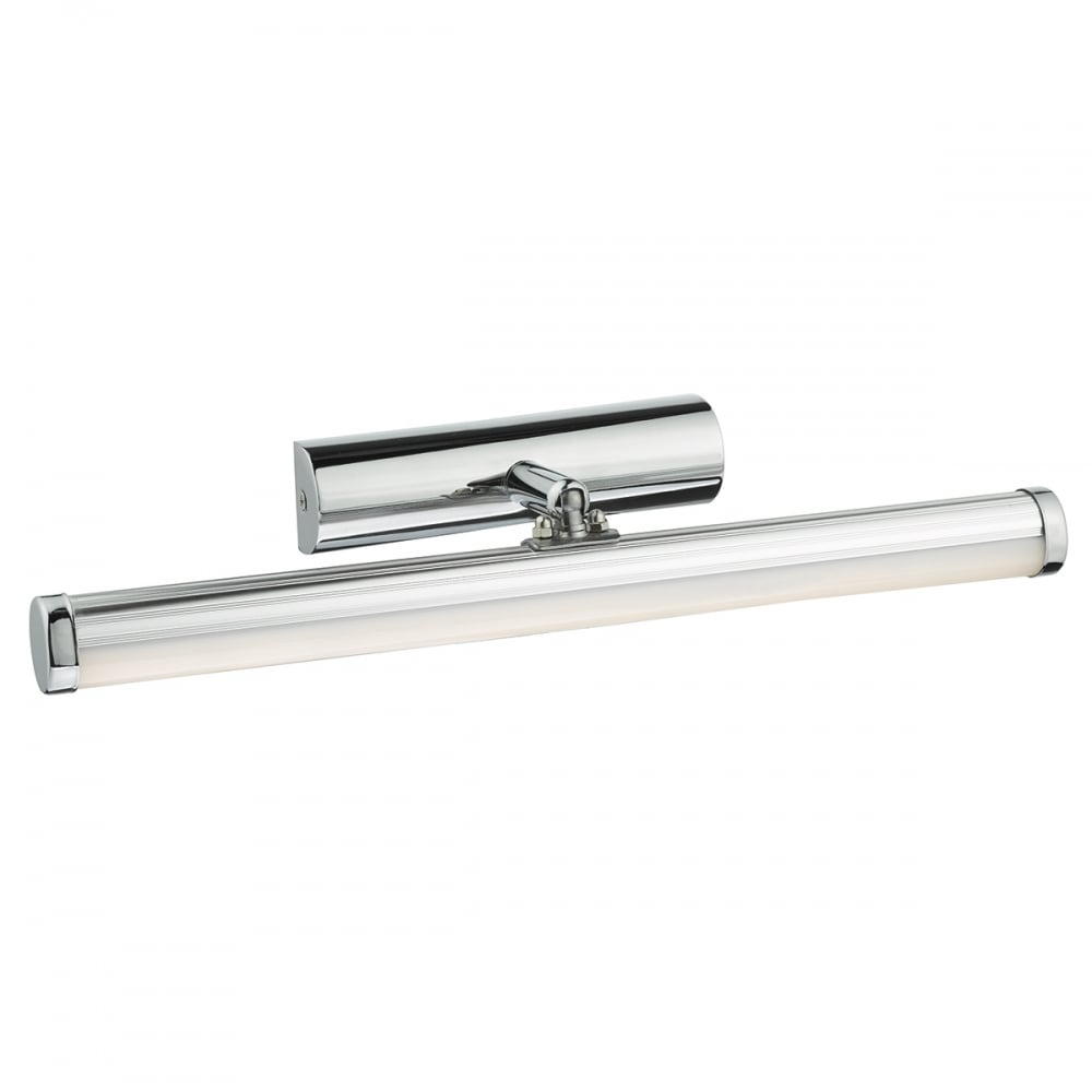 Modern chrome small led bathroom over mirror light ip44 for Small bathroom mirrors with lights