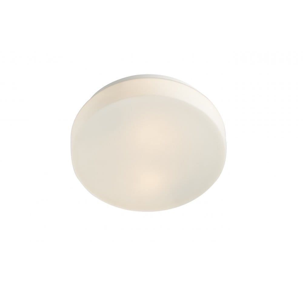 Contemporary white led bathroom ceiling light ip44 rated for Bathroom ceiling lights