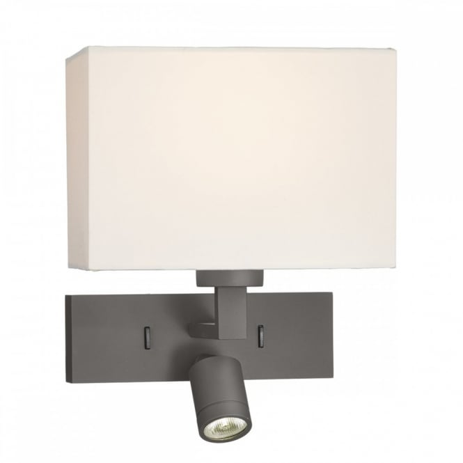 The Lighting Book Turn your bedroom into a hotel styled room with the addition of 'Modena Led' bronze wall light.