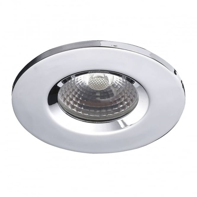 The Lighting Book VEGA LED chrome downlight, recessed ceiling spotlight