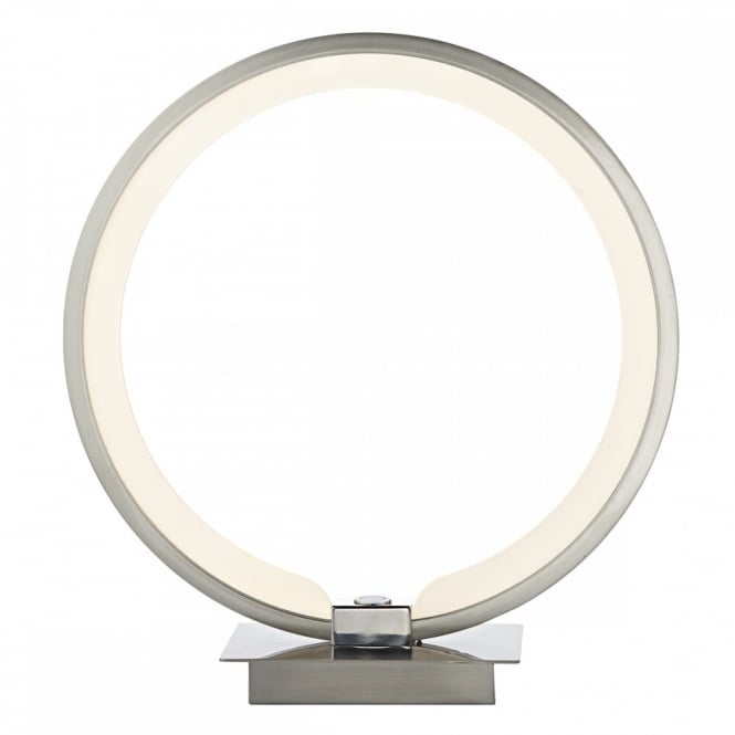 Ultra low energy led modern table lamp touch lamp bedside lamp led modern touch lamp circular design ring shaped lamp aloadofball Image collections