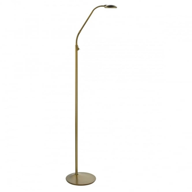 Bronze led floor lamp great reading task lamp for any for Retro floor reading lamp