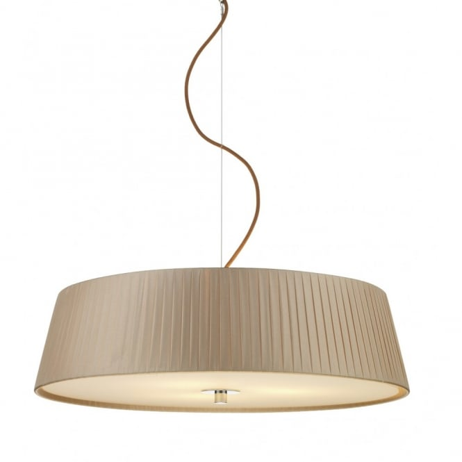 The Lighting Book WHEEL taupe ceiling pendant light