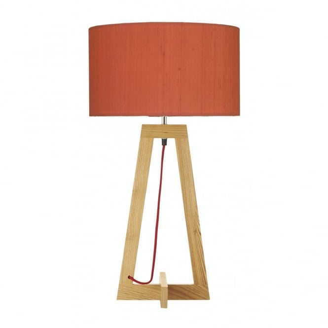 The Lighting Book WISCONSIN wooden table lamp base