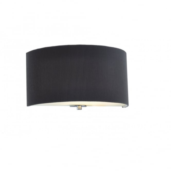 The Lighting Book ZARAGOZA grey semi-circular wall light
