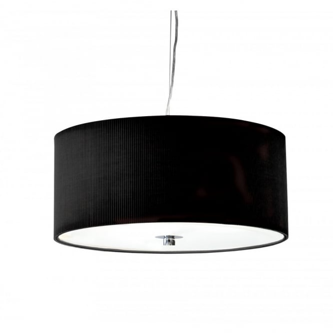 The Lighting Book ZARAGOZA medium black ceiling pendant shade (60cms)