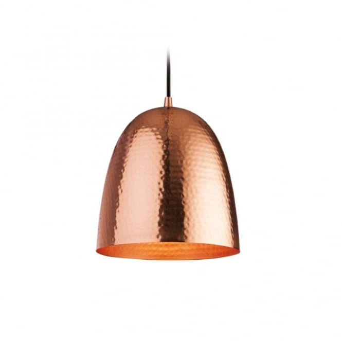 The Lighting Collection ASSAM ceiling pendant (copper & matt copper)