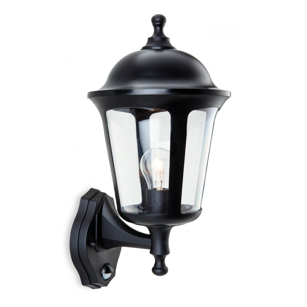 Boston polycarbonate outdoor wall lantern in black with pir sensor boston polycarbonate outdoor wall lantern in black with pir sensor aloadofball Gallery