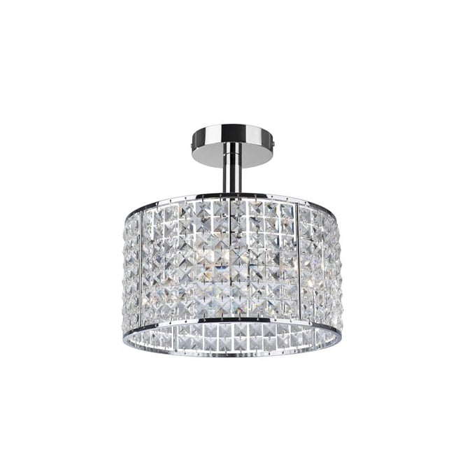 Bathroom Lights Ip44 modern bathroom crystal ceiling light, ip44, dimmable