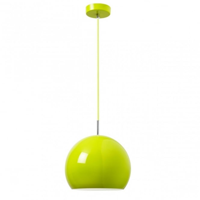 The Lighting Directory ALZIRA ceiling pendant (green)