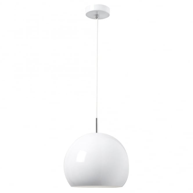 The Lighting Directory ALZIRA ceiling pendant (white)