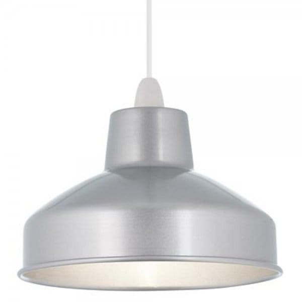 Converting Light Industrial To Residential: Aston Easy Fit Non Electric Aluminium Ceiling Pendant Light