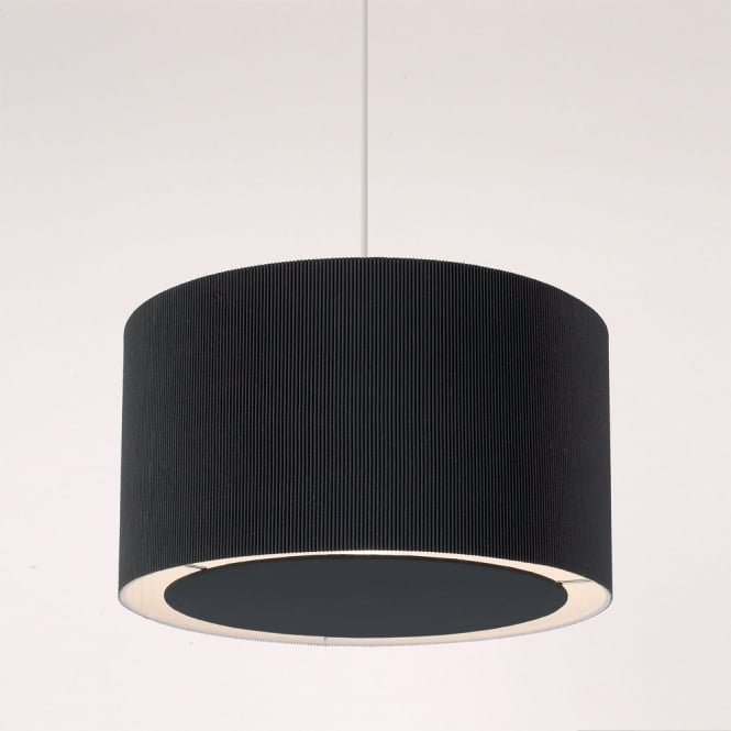 The Lighting Directory COLETTE easy fit non electric black ceiling pendant light