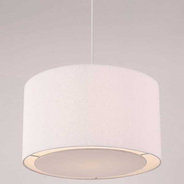 Colette Easy Fit White Ceiling Pendant Light Shade