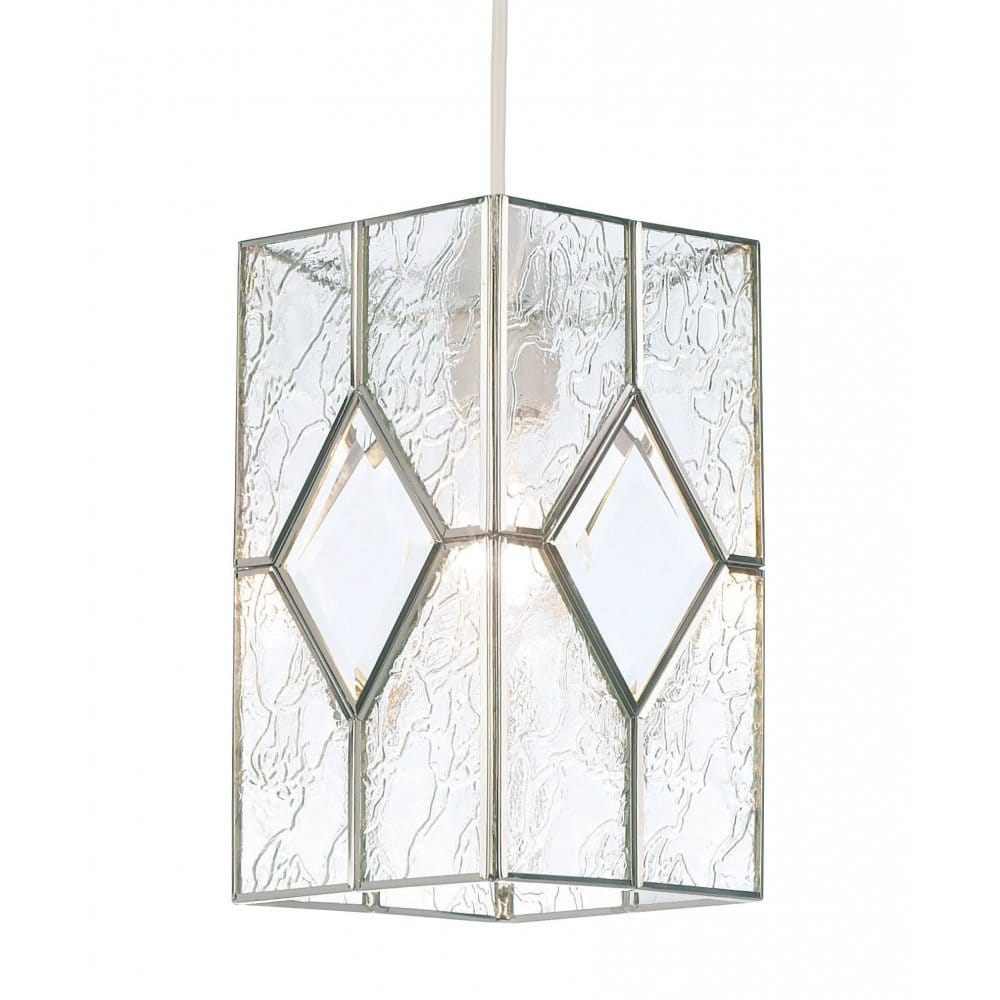Easy Fit Glass Lantern Shade