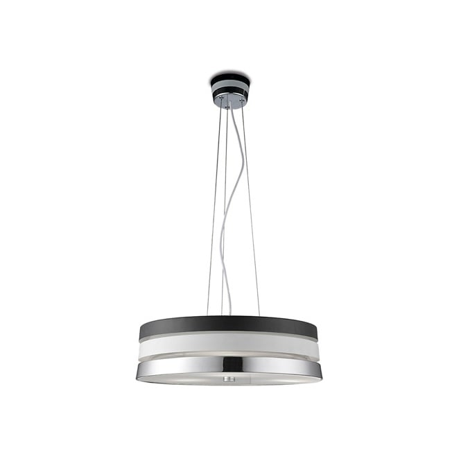 The One CUMBIA contemporary three tone ceiling pendant