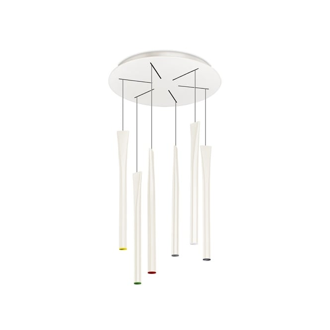 The One ROCKET LED ceiling pendant cluster (cream)