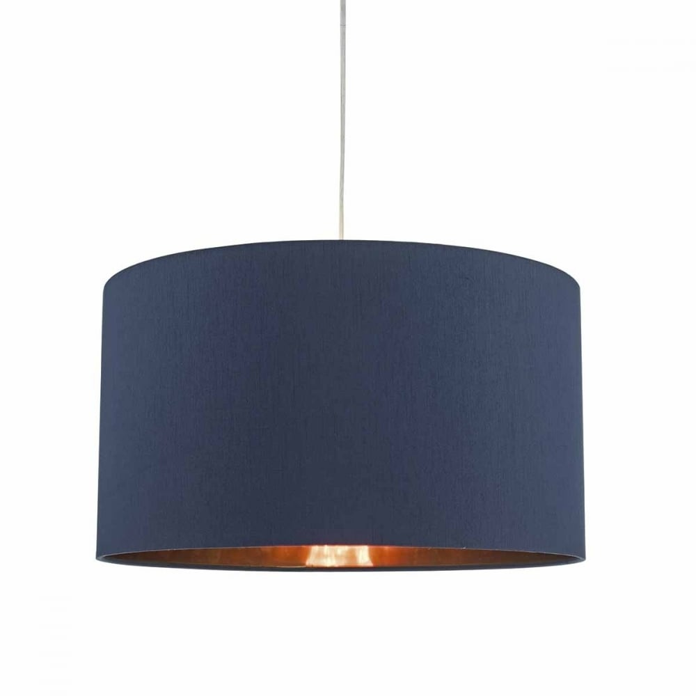 easy lighting. Contemporary Blue And Copper Easy Fit Pendant Lighting D