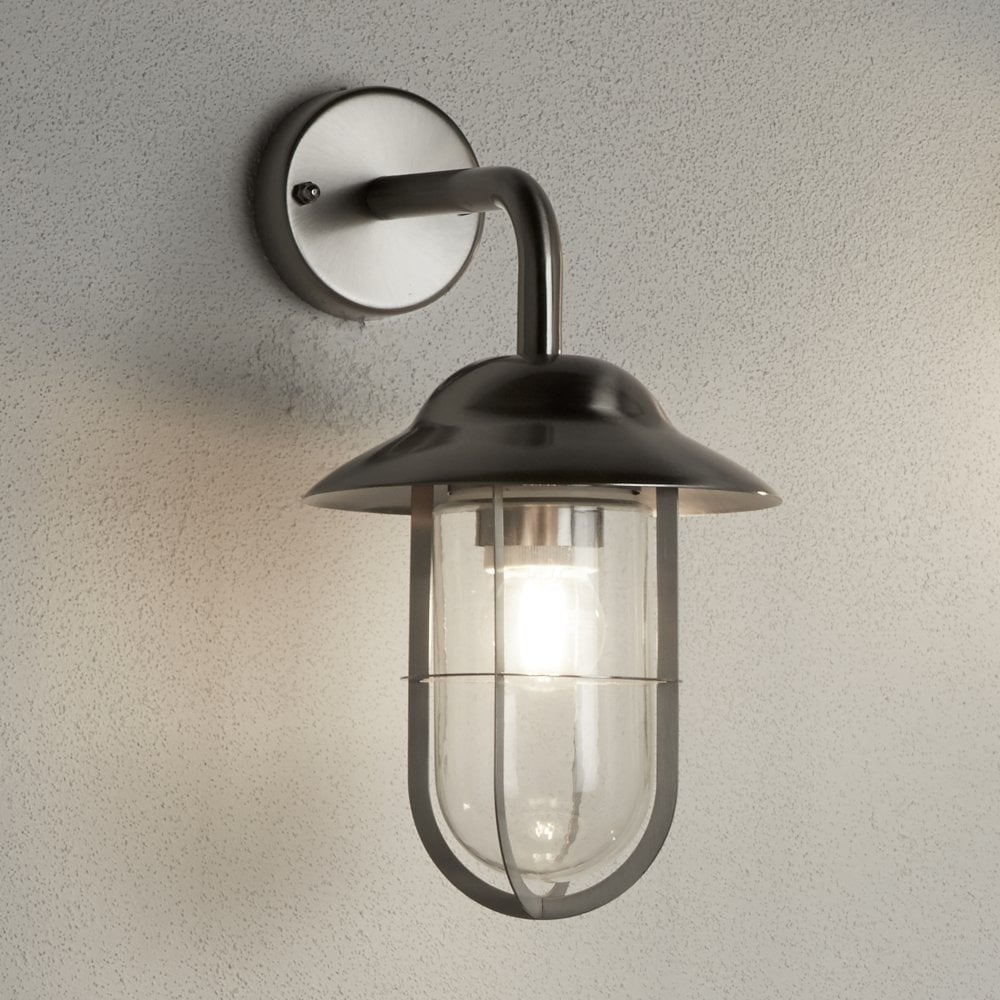 Stainless Steel Outdoor Wall Lantern Lighting Company