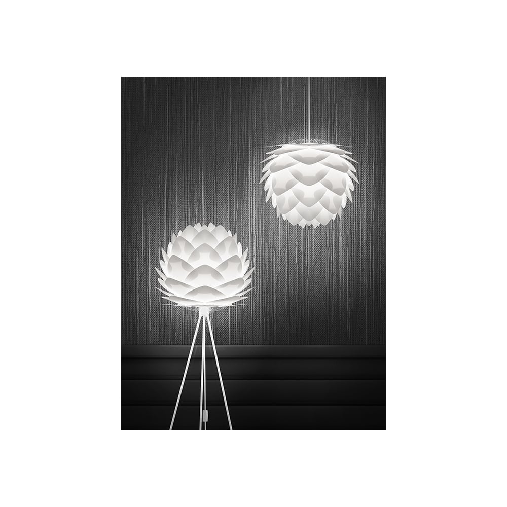 White artichoke style easy fit lamp shade white artichoke design easy fit lamp shade aloadofball Image collections