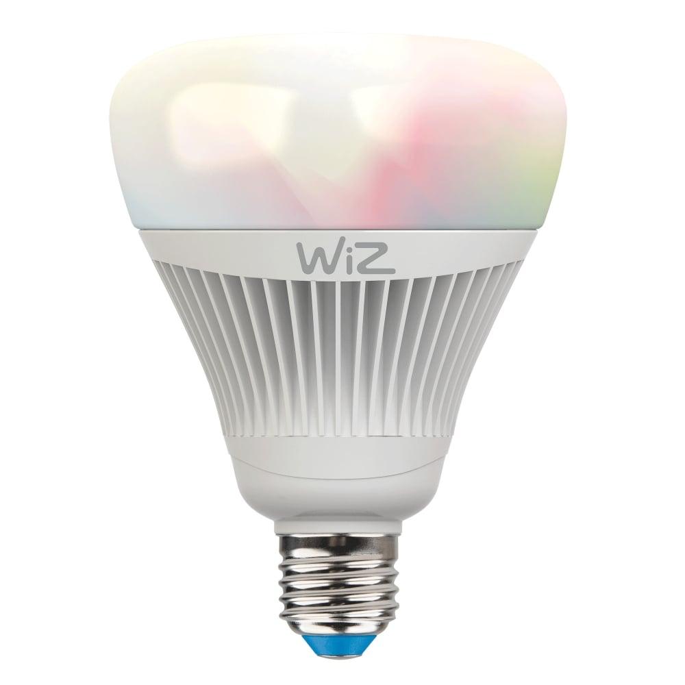 E27 es colour changing led smart bulb wiz lighting for 100 watt table lamps uk