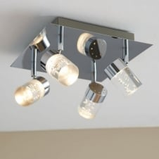 MAAR modern LED 4 light ceiling spot light cluster