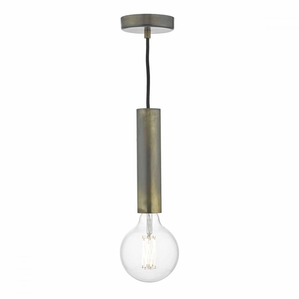 Smartwares Industrial Es Pendant Light Black Bronze: ZULA Bronze Ceiling Pendant Suspension