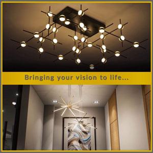 Modular LED Lights by The Lighting Company UK